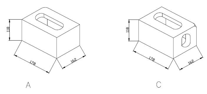 corner casting-A